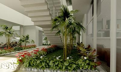 Como criar Jardins de Inverno para compor com a decoração?